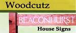 Woodcutz House Signs