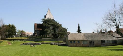 Ditchling Village Green and St Margaret's Church